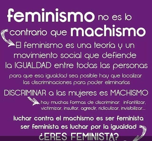 Feminismo y machismo