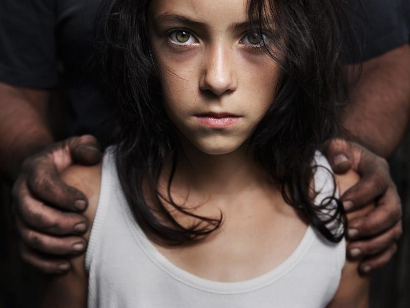 niña abusada